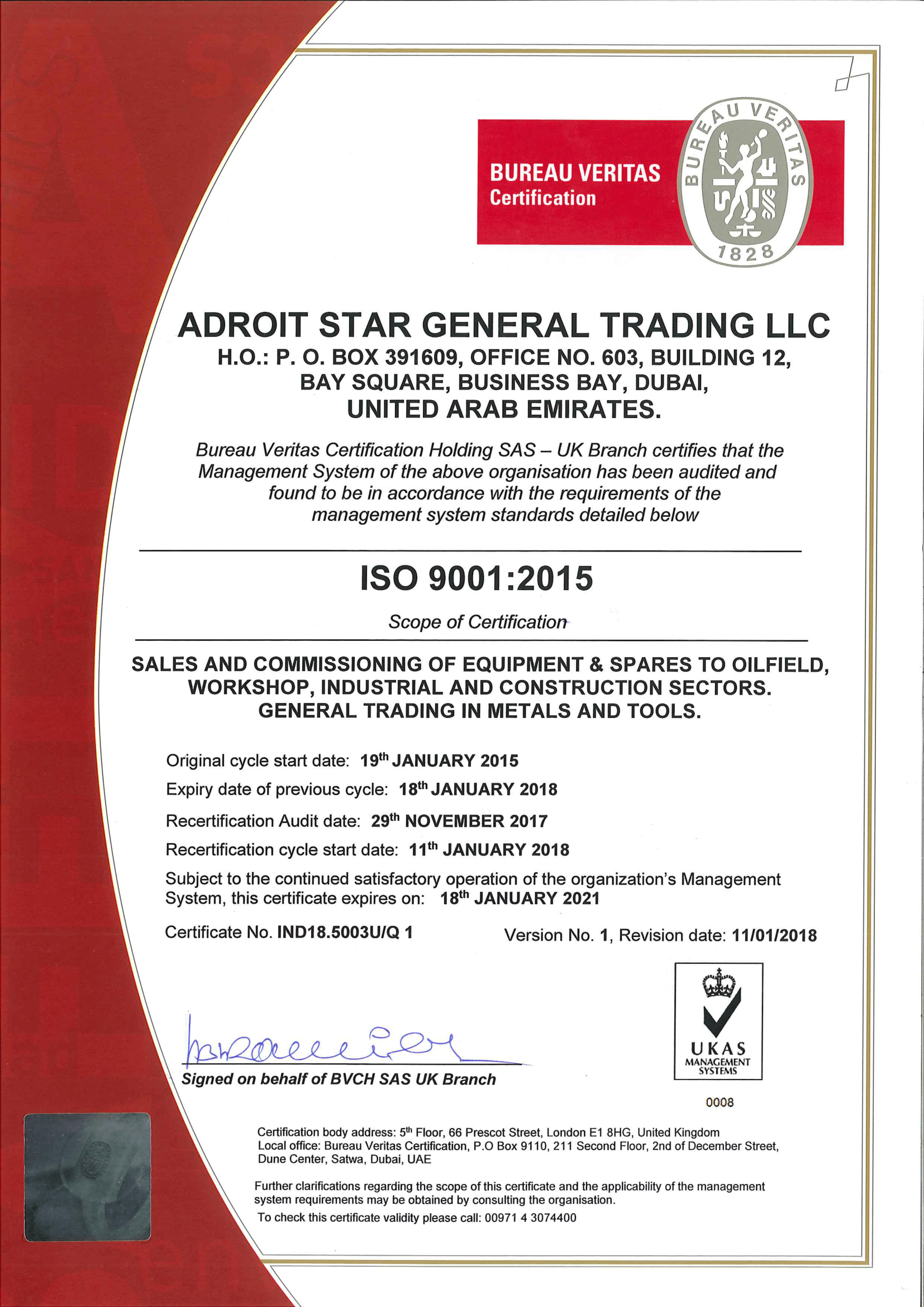 Iso Certifications Adroit Engineering Services